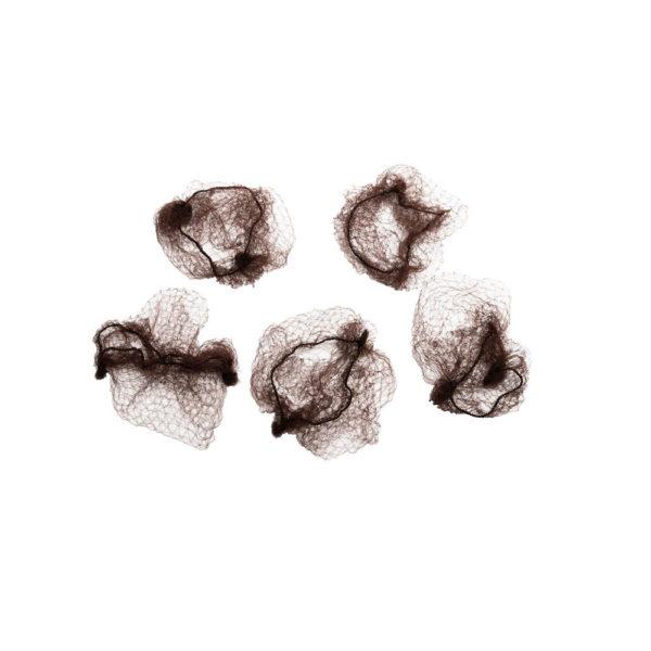 Ruskea nutturaverkko, 5 kpl.