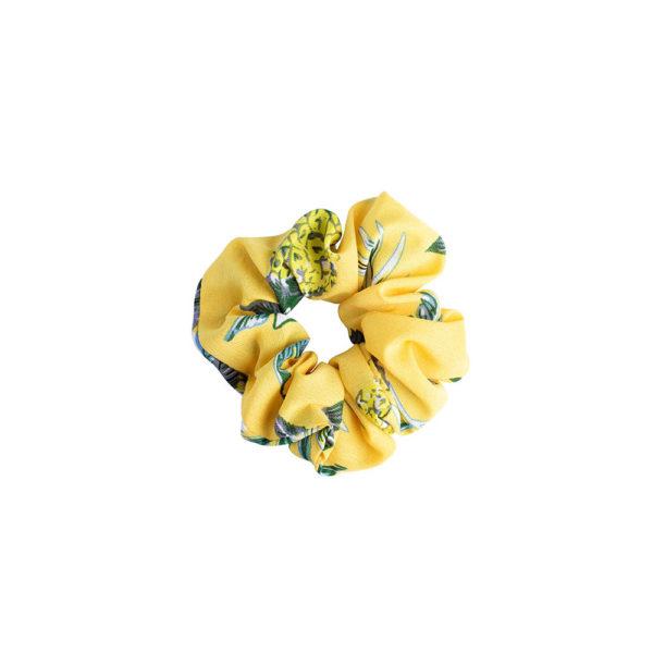 Hiusdonitsi Yellow Pineapple.