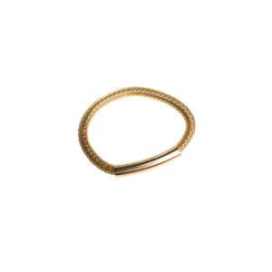 Rannekoru metallinen kulta.